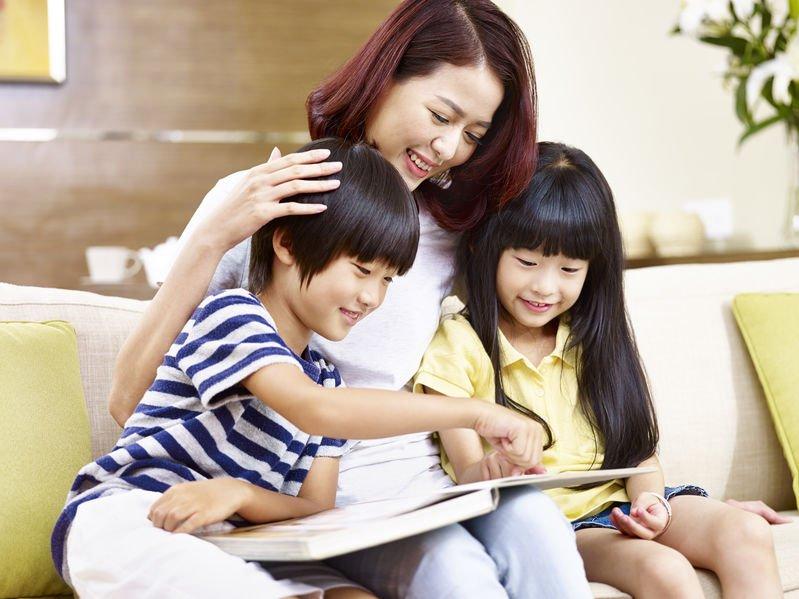 創意親子共讀  打造互動「心」溫度