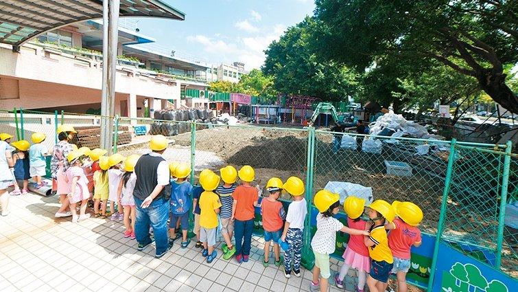 台北市南海實驗幼兒園:忍住教的衝動,先聽孩子說