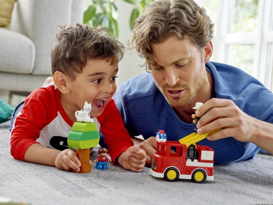 樂高得寶創意無限,陪寶貝玩出專注力、語言力與想像力