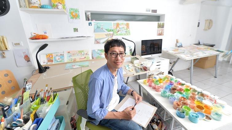 國際繪本大師陳致元:我的啟蒙老師,是在天上的媽媽