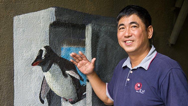 台北市立動物園園長金仕謙:走自己的獸醫路