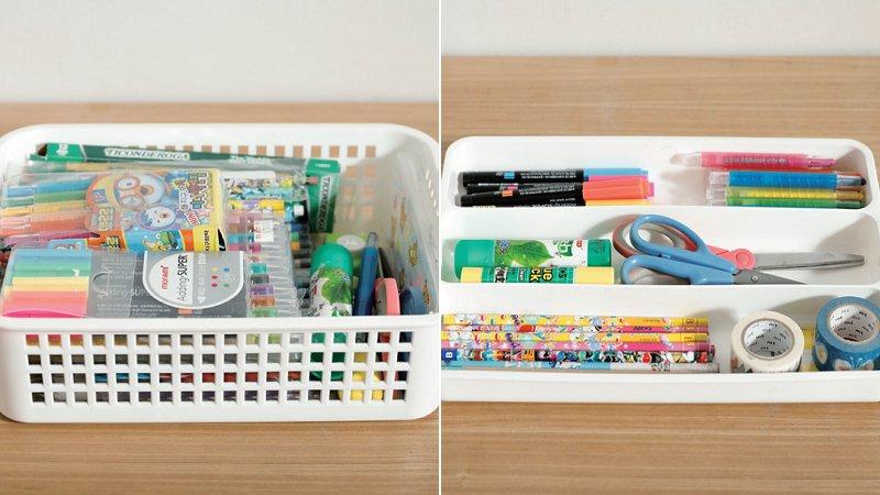 讓孩子房間斷捨離,整理小孩作品、書桌快速收納法