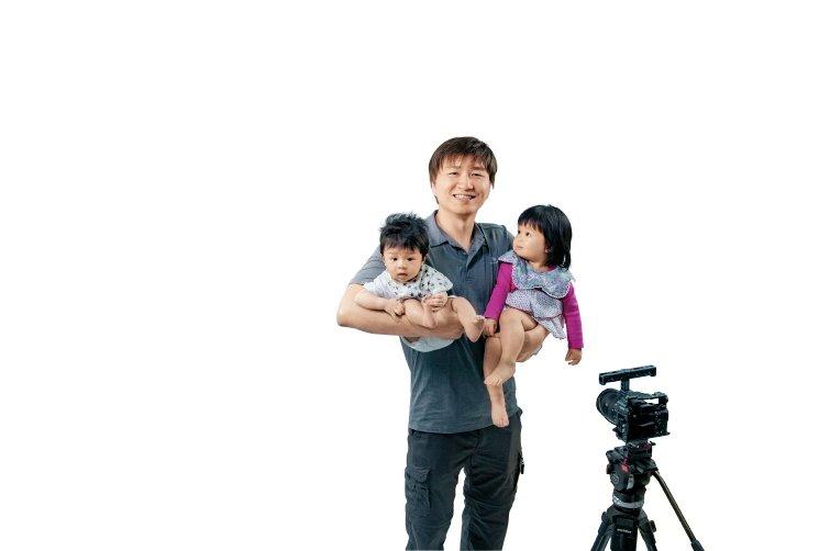 奶爸網紅「隱藏角色」:用打電玩精神自學育兒,男人也能帶好小孩