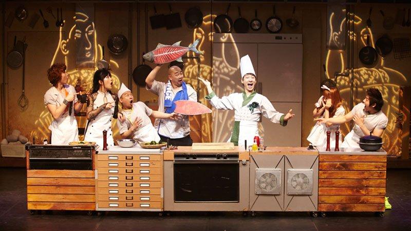 帶孩子看一場美味的表演吧!韓國音樂喜劇 chef廚師秀