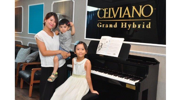 培養音樂力,體驗原音呈現的CASIO類平台鋼琴