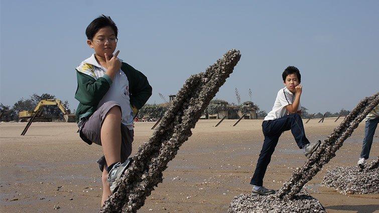 小小環境保育者林豈弟:拍動畫,為白海豚打抱不平