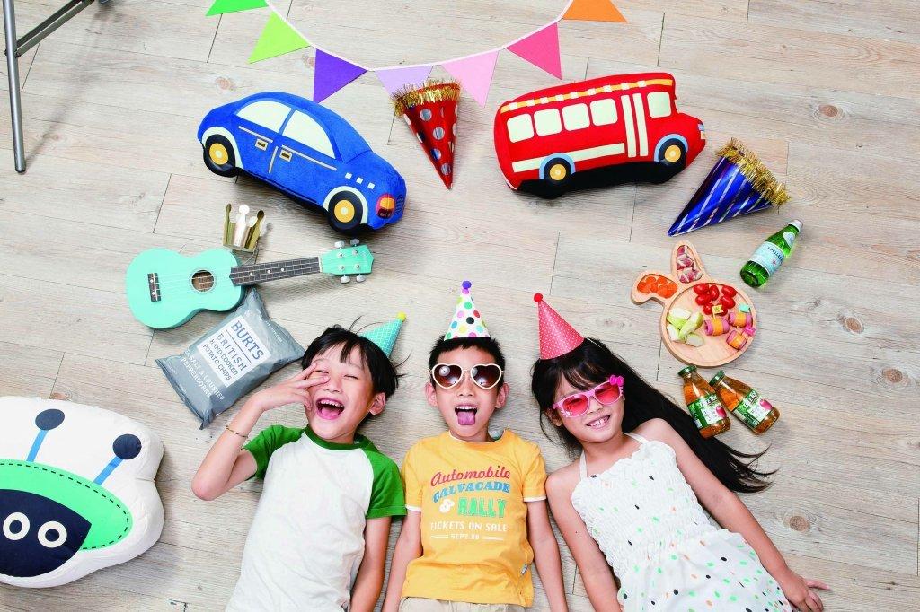 夏日「瘋」Party   在家開趴也能很有fu 7月全台門市開趴趣  大人小孩嫑嫑派對等您來玩