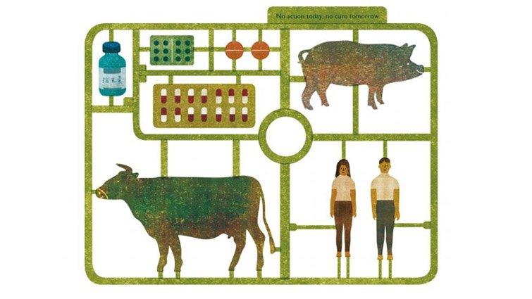 黃瑽寧:什麼!吃牛肉漢堡也會養出抗藥性?