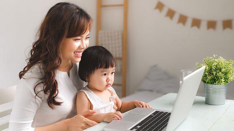 每週與同事相處和陪孩子時間,哪個較長?