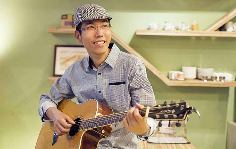 國中校長的歌手夢,張嘉亨把音樂融入教育