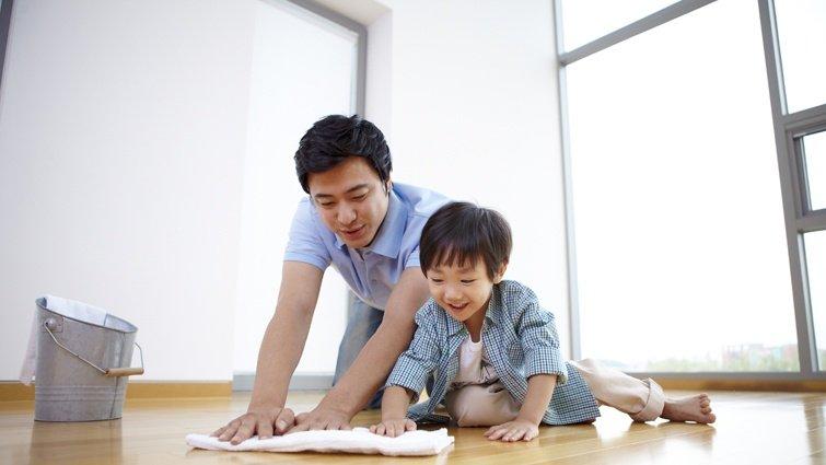 老ㄙㄨ老師:合作與比賽,一起來做家事吧!