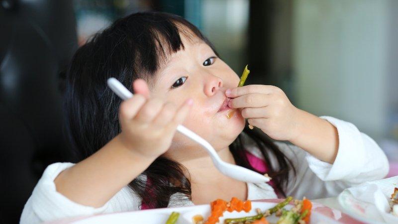 活動量大、代謝率又高,孩子會瘦很正常!