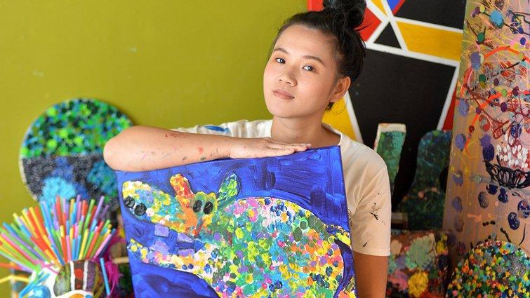 Wasabi Art Lab張䕒方:我只能專注20分,畫畫讓我屁股離不開椅子