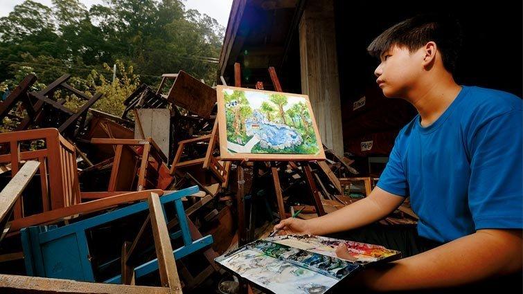 【家的力量】家人1號-學校老師  挖掘亮點,特殊兒變小畫家