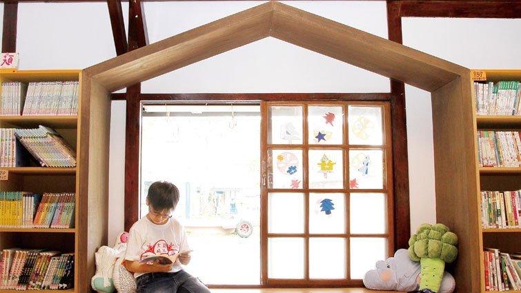 大崎兒童藝術圖書館變身 見證歲月的容顏