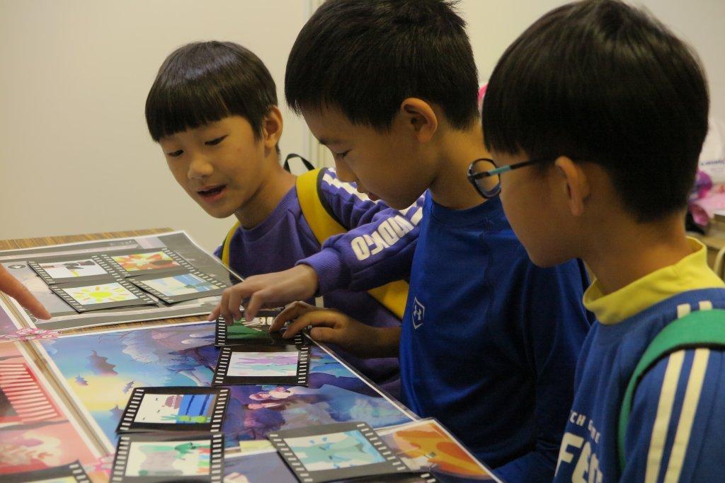 國影中心帶孩子認識電影  用電影記憶我們的故事