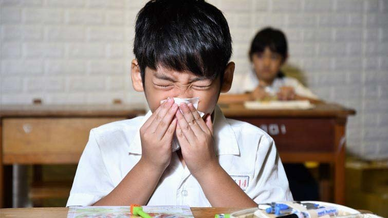 開學感冒與過敏齊發  當心孩子痛苦指數升高