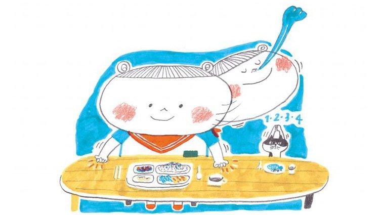 黃瑽寧:神奇的飯前儀式 促進食欲,把愛吃光光