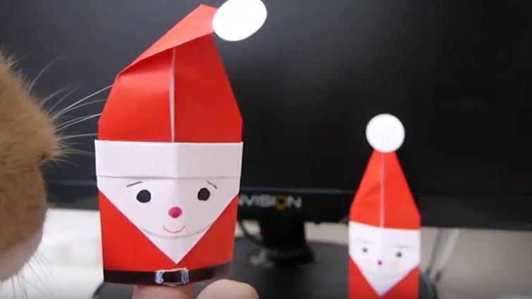 【書創意‧創意書】王淑芬:親子手工書-聖誕老人指偶