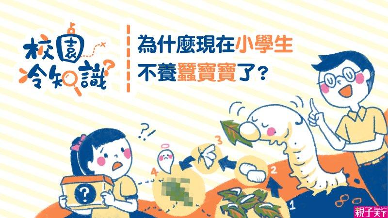 【校園冷知識之8】為什麼現在小學生不養蠶寶寶了?