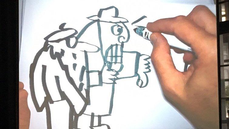 美國知名繪本創作家Jon Agee來訪!與劉旭恭、林小杯的繪本創作歷程交流