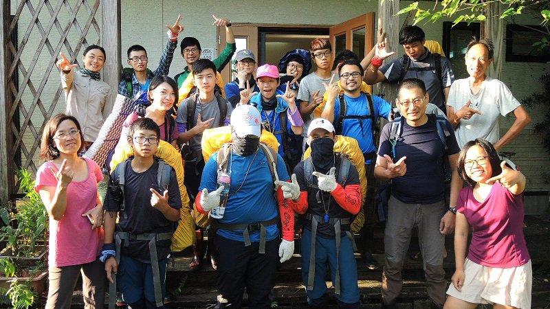 台灣生態登山教育,帶孩子上山學習愛自己