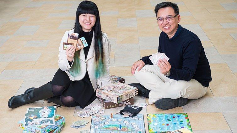 科學實測保證好玩 侯惠澤團隊推新款教育桌遊:挖寶藏、走透台灣