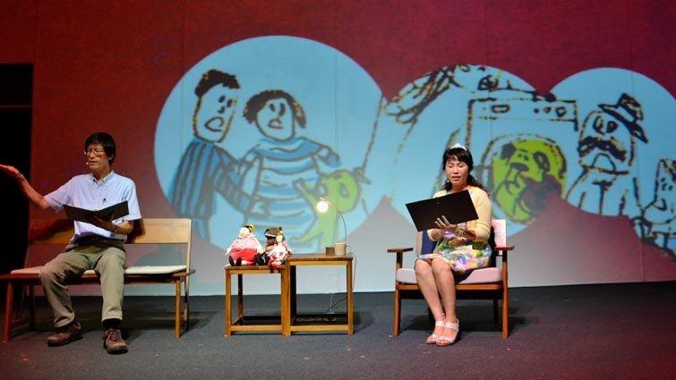 童書作家林世仁朗讀童詩,讓大人小孩一起體會兒童文學的美好