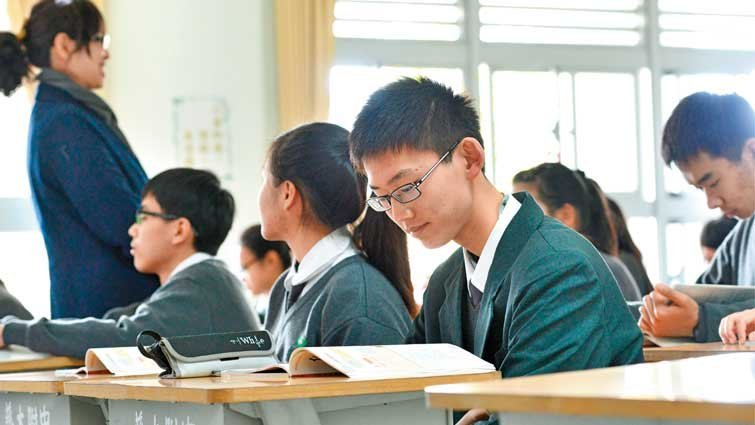 花蓮縣慈大附中國中部:用全球慈濟資源辦教育