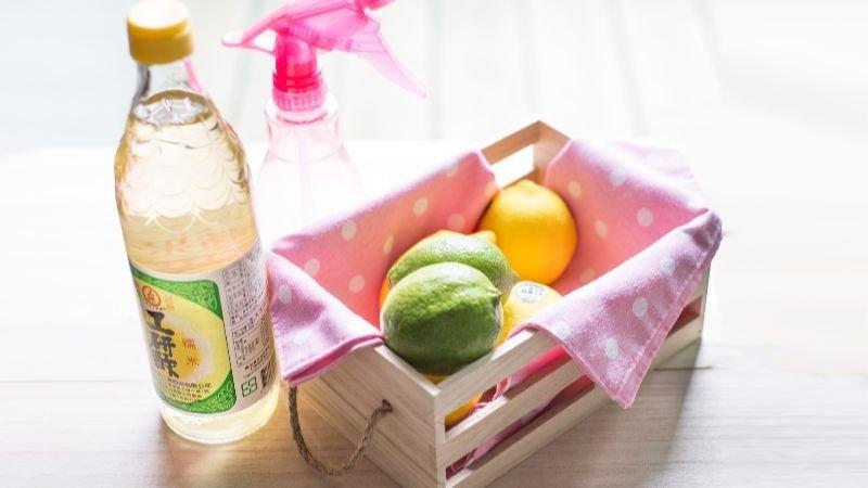 除垢又防霉!教你製作檸檬白醋無毒萬用清潔液