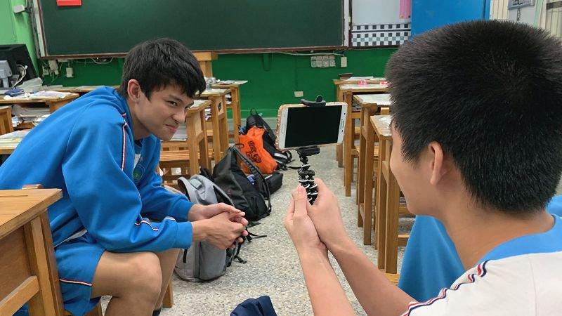 2019教育創新100│五峰國中拍生涯微電影 了解會考不考,但人生會考的事