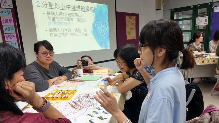 台北協作中心:不空談新課綱,協助老師把夢畫出來
