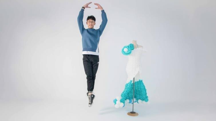 15歲國中生洪璽皓靠自學挑戰世界氣球比賽:「年紀是我的優勢!」