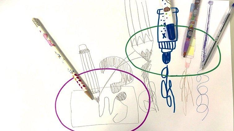 【科學不難專欄】彩色筆+圖畫紙=輕鬆玩科學