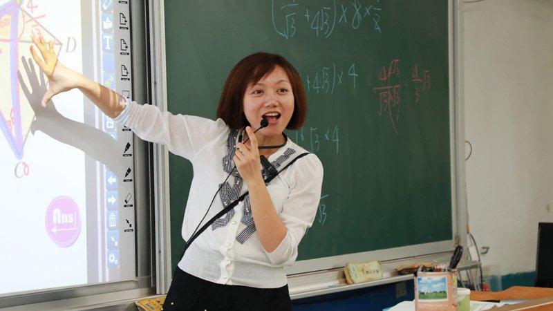 數學女神林玉君的唯一信奉:讓學生愛上數學