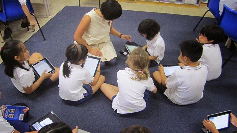國際學校資訊科技老師不教科技,卻是學習的科技啦啦隊