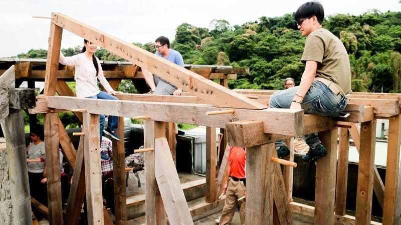 汗得建築實驗教育,造起一個世界