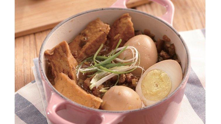 下班卸完妝就可以開飯的一鍋煮料理:香菇瓜仔肉