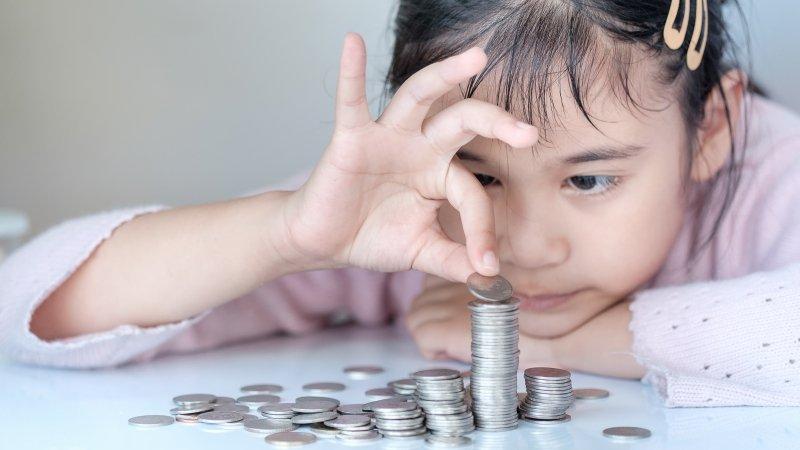 零用錢也能教理財,孩子長大不當伸手牌