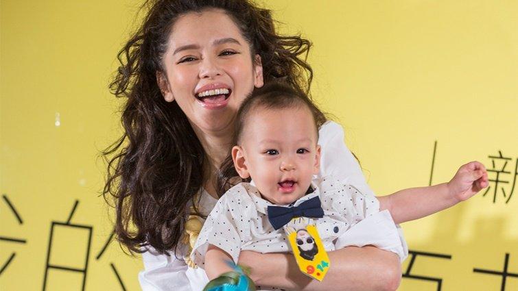 徐若瑄堅毅臥床5月養胎 提兒早產眼眶紅