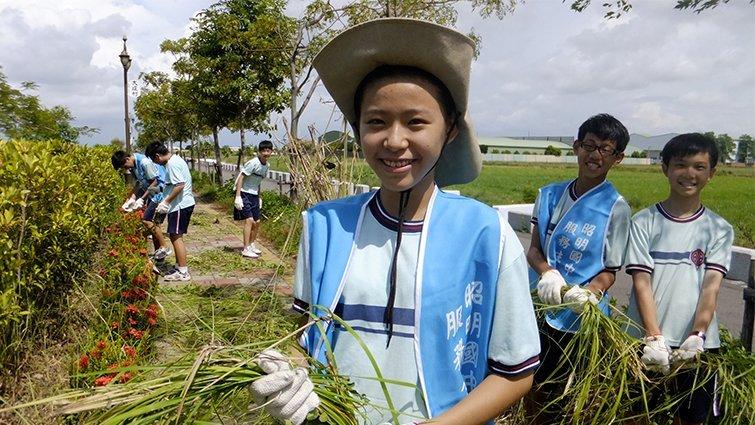 台南市昭明國中:收費和教學理念很「公立」