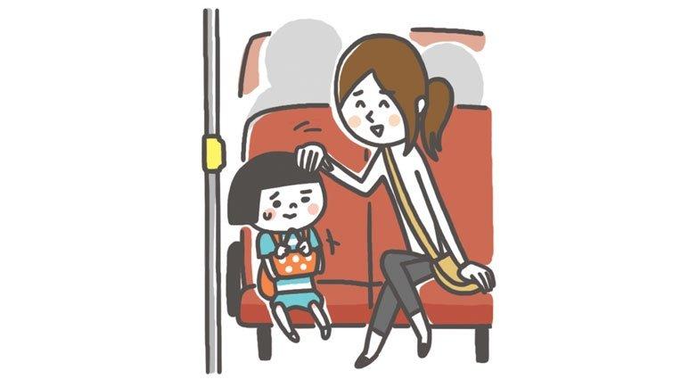 公車上,有陌生人一直跟我講話、碰我肩膀,該怎麼拒絕?