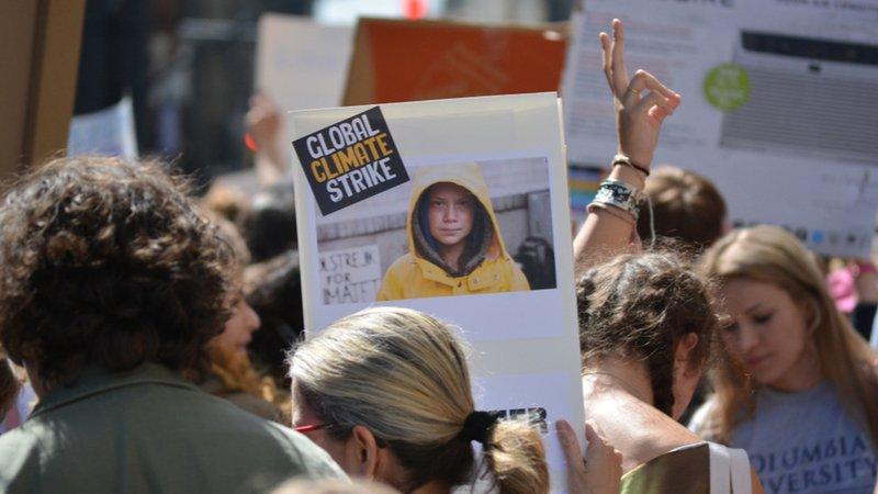 「不要小看我們年輕!」瑞典少女桑柏格,引爆全球抗暖化運動