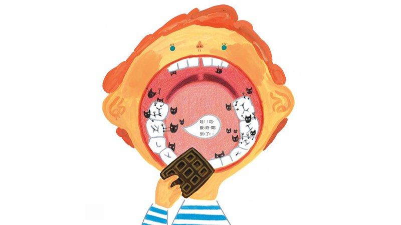 親子部落客莎莎醬推薦極具教育意義又貼近孩子生活的好書【我的第一套食育安全知識繪本】