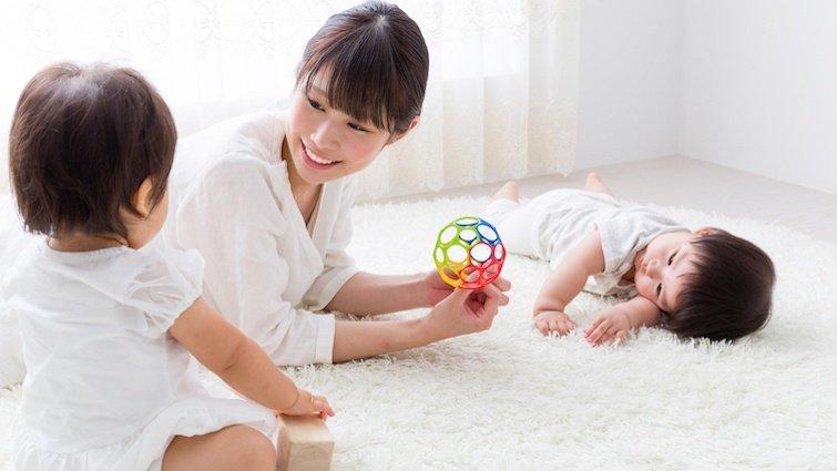 寶寶的第一個學步期,在家就能玩的啟蒙小遊戲
