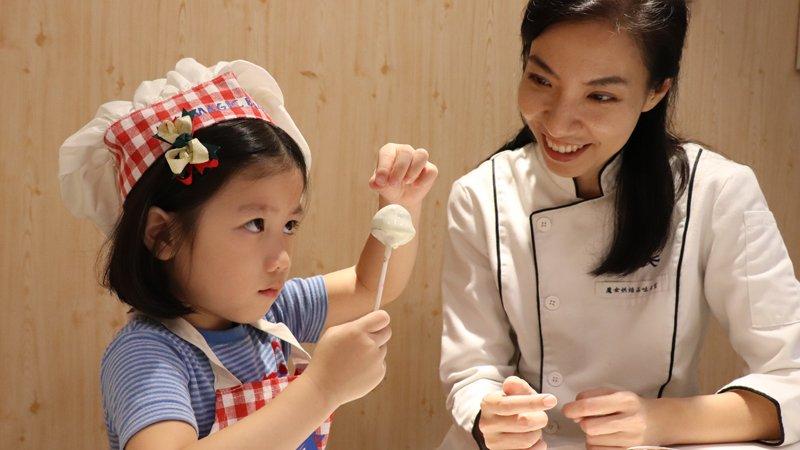小小孩的甜點課,啟發創意、訓練專注力