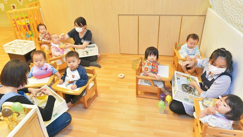 台北市士林公共托嬰中心 照顧老師的需求,孩子就能被照顧好
