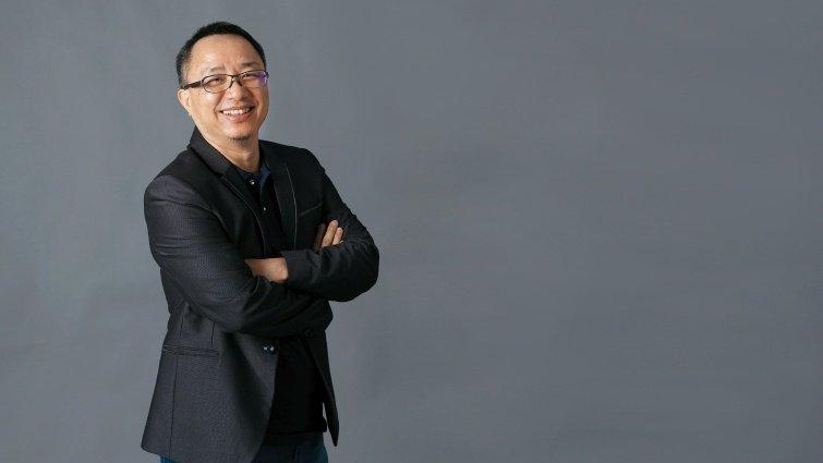 第一屆學長姐經驗談 教育噗浪客共同創辦人 洪旭亮繼續在教育社群點火,讓彼此正向連結