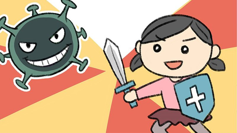 親子防疫作戰!小繪本帶孩子看懂新型冠狀病毒