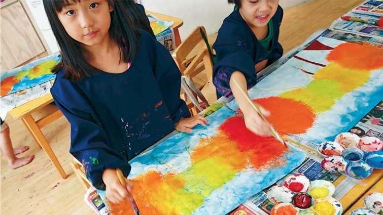 是學習也是遊戲 帶領幼兒藝術創作三步驟